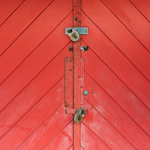 Red Beach Hut