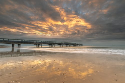 Dramatic Sky At Boscombe Pier