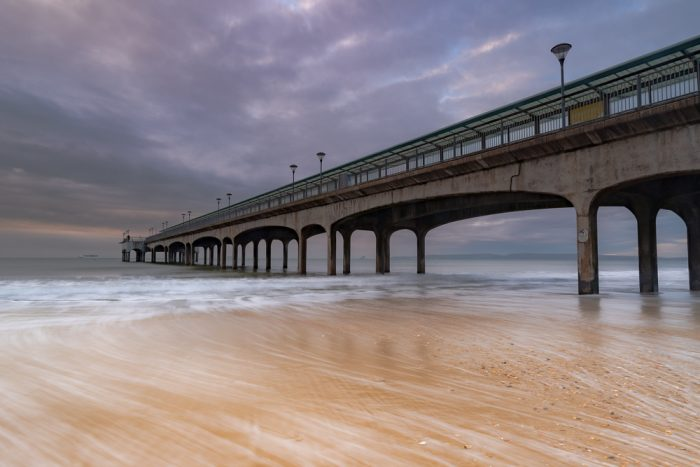 Boscombe Pier Winter Sunrise