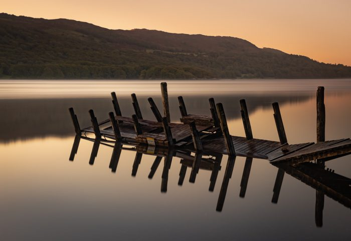 Reflecting At Coniston Waters